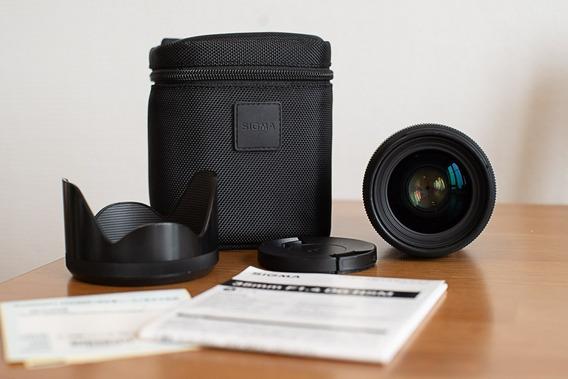 Lente Sigma Art 35mm F/1.4 Para Canon Pouco Usada