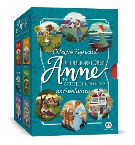 Imagem 1 de 10 de Box Anne De Green Gables - 6 Volumes  Anne With An E  - Nf