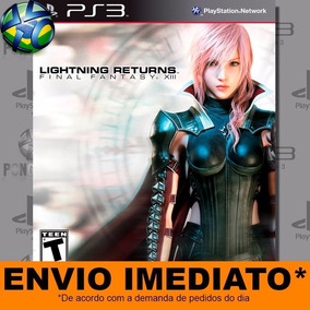 Jogo Lightning Returns Final Fantasy Xiii Ps3 Digital Psn