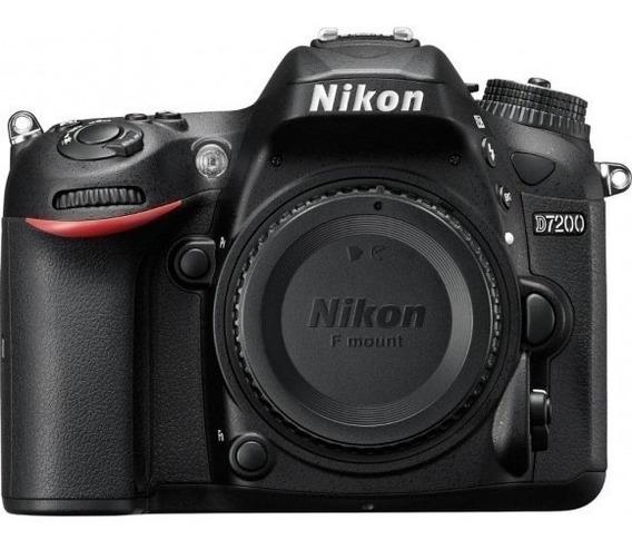 Câmera Nikon D7200 Corpo + 32gb + Bolsa Nota Fiscal