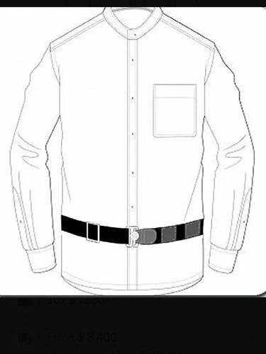 Sujetador De Camisas Cinturon