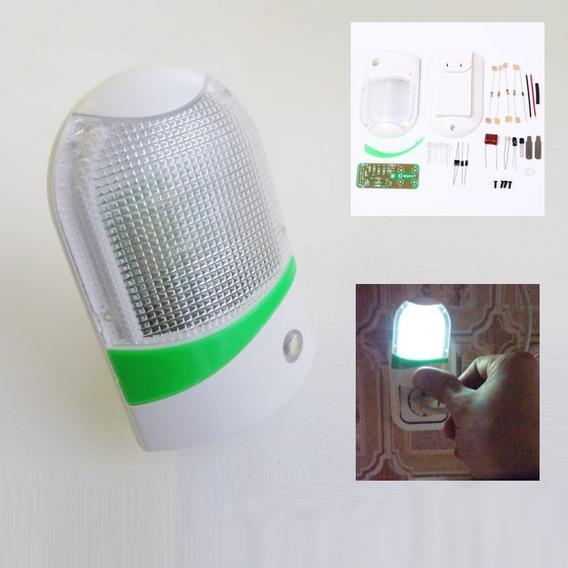 Controle De Luz Led Night-light Kit Para Montagem