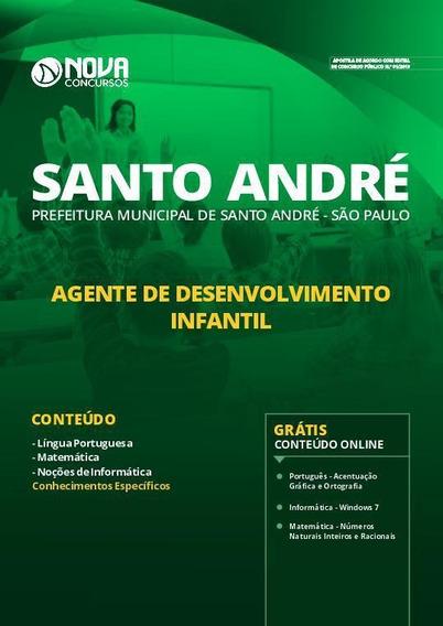 Apostila Santo André Sp Agente Desenvolvimento Infantil