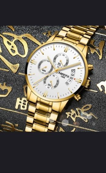 Relógio De Luxo Nibosi