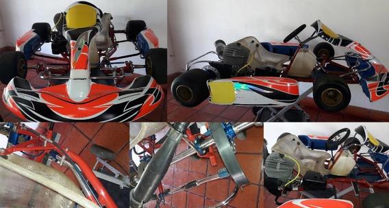 Karting Mike Wilson Con Motor Parilla 125cc Mod. 2010