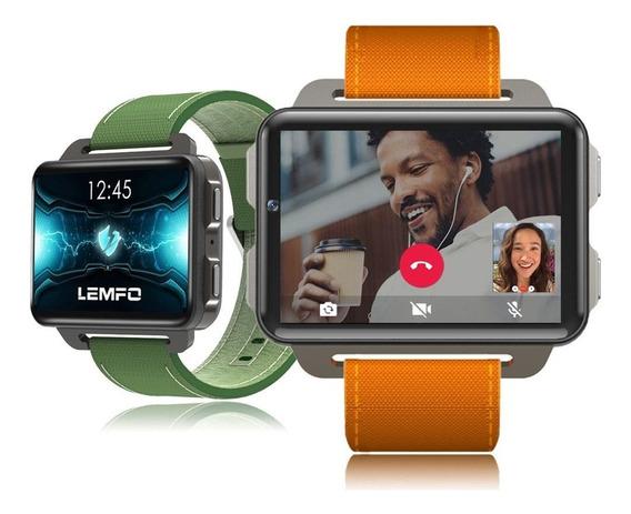 Smartwatch Lemfo Lem4 Pro Android Wifi, Gps + Pulseira Extra