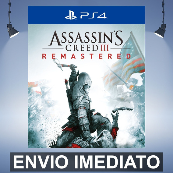 Assassins Creed 3 Remastered - Ps4 Código 12 Dígitos
