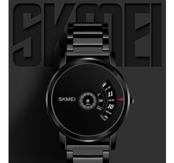 Relógio Masculino Skmei Analógico Fino 1260 Preto