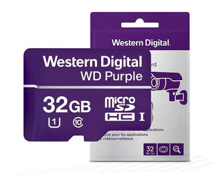 Memoria Micro Sd 32 Gb Western Digital Purple