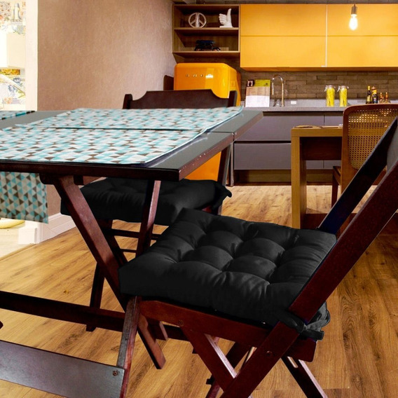 Almofada Assento Para Cadeira Futton Ox 40x40cm - Ecaza