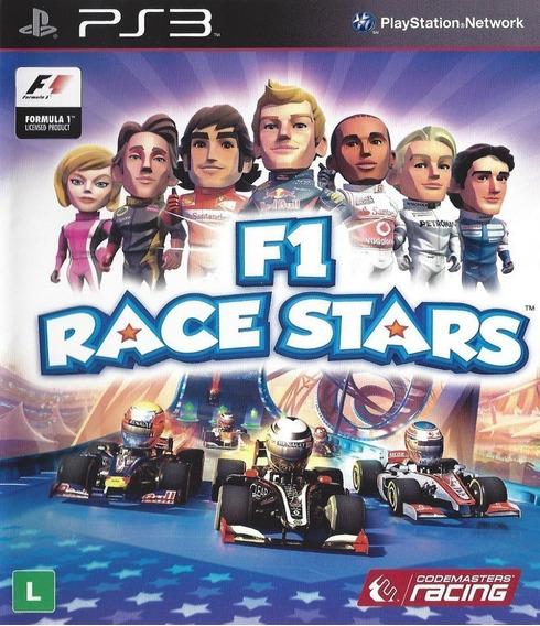 F1 Race Stars Ps3 Psn Jogo Inglês Comprar
