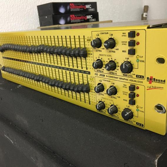 Equalizador Hot Sound Eq 2031
