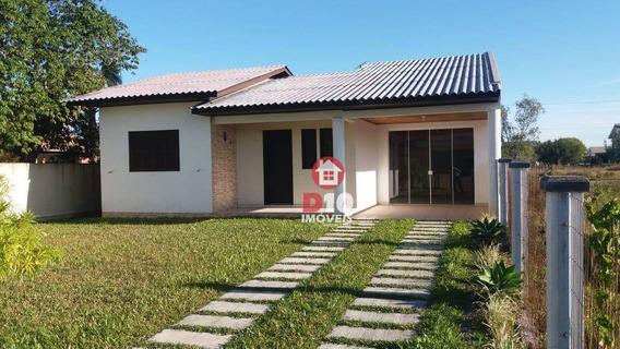 Casa À 300 Metros Do Mar, Na Bellatorres R$250,000 - Ca1749
