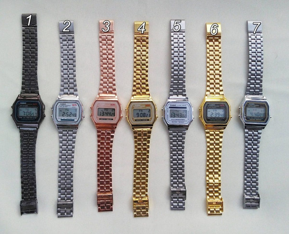 Kit Com 6 Relógios Casio Vintage Unissex Atacado / Oferta Relâmpago!!!