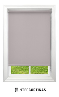 Cortinas Roller Black Out Beige - Oscuridad Total