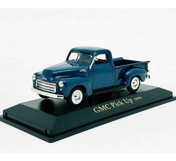 Miniatura Carro Gmc Pick Up 1950 Azul 1:43 Yat Ming 94255