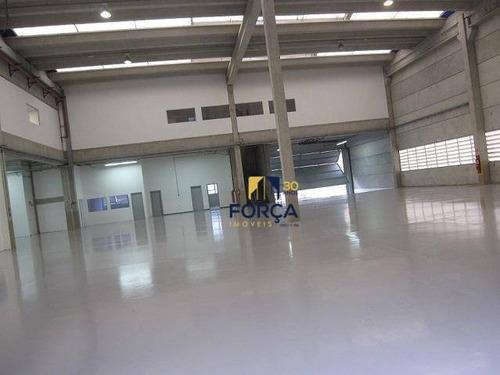 Galpão Para Alugar, 3000 M² - Alphaville Industrial - Barueri/sp - Ga0238