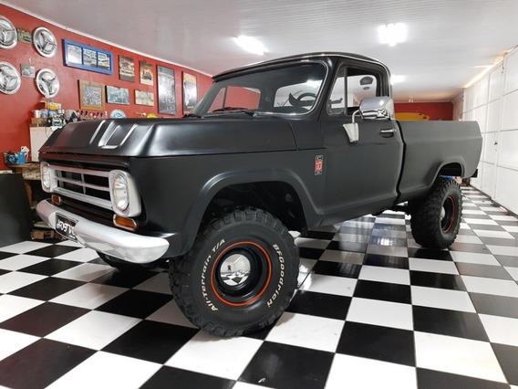 Hotv8 Vende Chevrolet C-10 4x4 1978 6cil 4100 Legalizada
