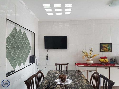 Sobrado Com 3 Dorms, Embaré, Santos - R$ 1.200.000,00, 144m² - Codigo: 11246 - V11246