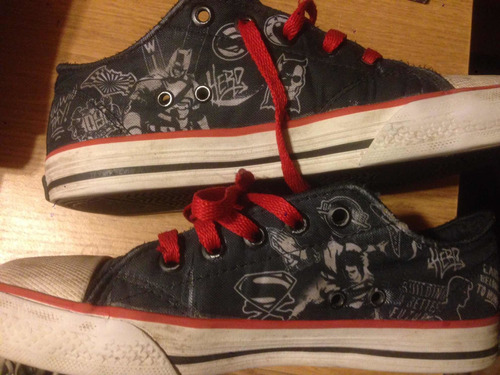 Zapatillas Niño Superman Vs Batman-topper