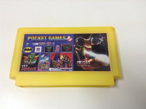 150 En 1 Cartucho Sin Repetir Family Game Pocket Multiple
