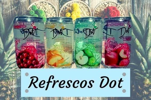 Refresco De Frutas Dot Lata Transparente