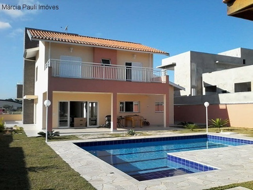 Imagem 1 de 11 de Casa Sobrado No Condomínio Montes Claros - Itupeva/sp. - Ca04181 - 69523538