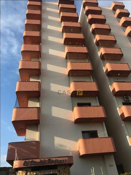Apartamento Com 3 Dormitórios Para Alugar, 135 M² Por R$ 1.600/mês - Centro - Santa Bárbara D