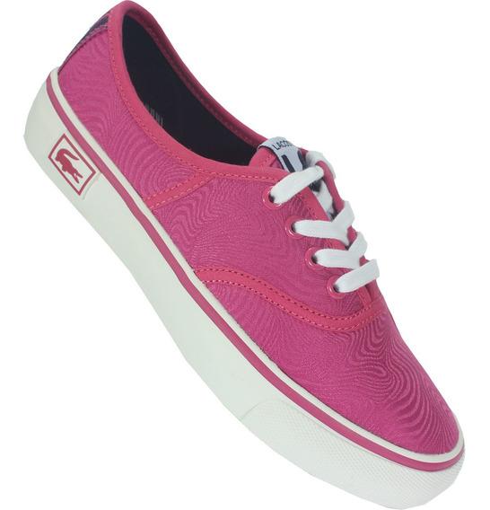Tênis Lacoste Rene Vaultstar Pn Original - Pink