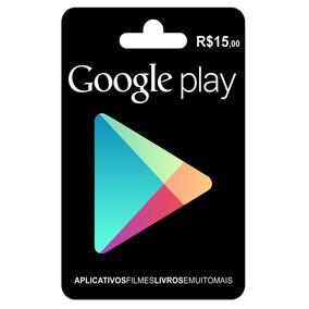 Vale Presente Play Store R$ 15,00