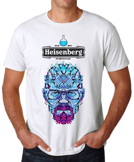 Remera Heisenberg Breaking Bad Series Pinkman Walter