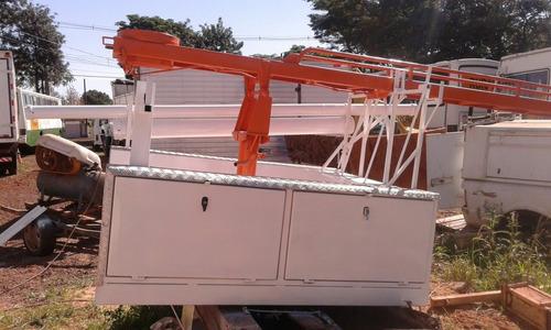Carroceria Escada Giratória . Para S 10 . Ranger 2015