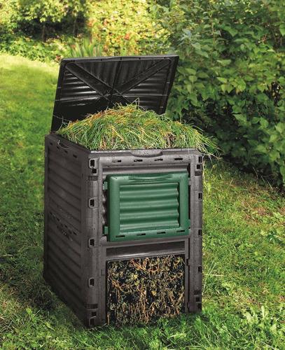 Compostera De Jardín -compostador Para Reciclaje - 300 Ltrs