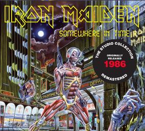 Cd Iron Maiden Somewhere In Time (1986) Remastered Em Estoqu