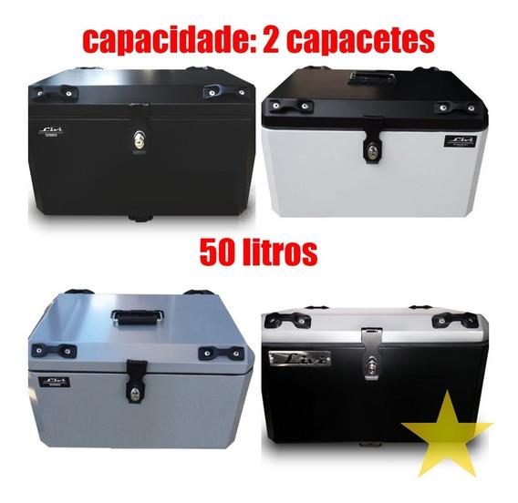 Baú Moto Cb 500 X Alumínio 50 Litros Caixa Cb500 X 500x