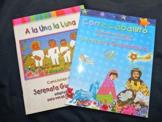 Serenata Guayanesa 2 Libros + 2 Cds Metodo De Cuatro