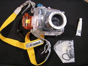 Case Estanque Canon Water Proof Wp-dc12 Prova D Água Camera