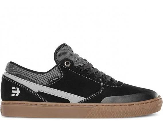 Tênis Skate Etnies Rap Cl Black/grey/gum Importado Promoção