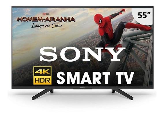 Smart Tv Sony 55 Polegadas 4k Kd-55x705f Preta