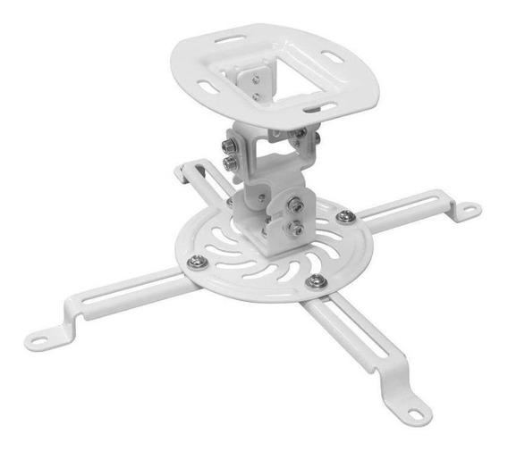 Suporte De Teto ELG Para Projetor Pro100w - Branco