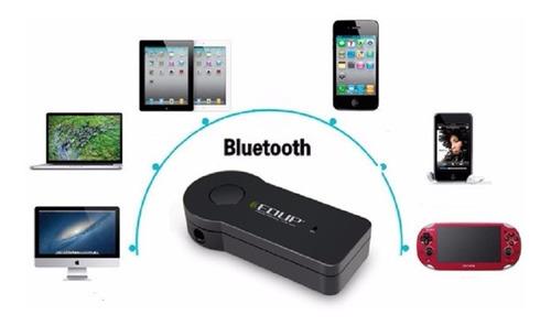 Imagen 1 de 5 de Receptor Manos Libres Bluetooth V 3.0 Stéreo Av 3.5mm Edup