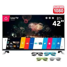 Tv Lg 42 Lb6500 Com A Tela Quebrada