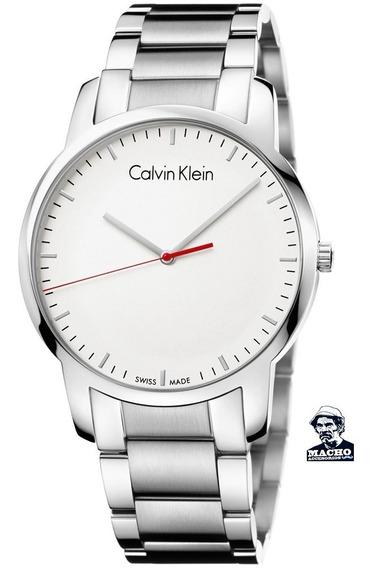 Reloj Calvin Klein City K2g2g1z6 Suizo Original Nuevo Caja