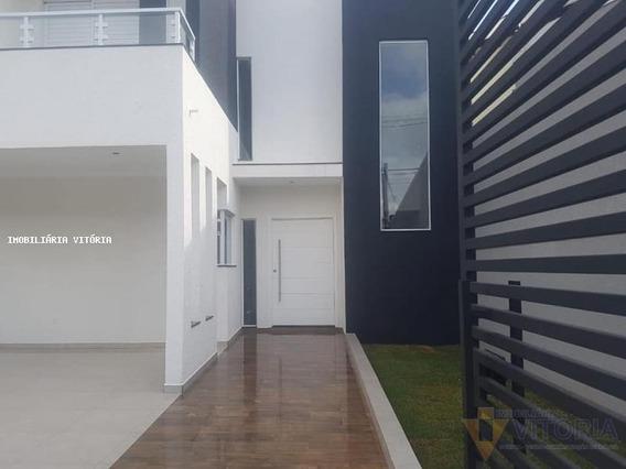 Casa Para Venda Em Bragança Paulista, Residencial Dos Lagos, 3 Dormitórios, 3 Suítes, 4 Banheiros, 2 Vagas - Pv 640_2-927512