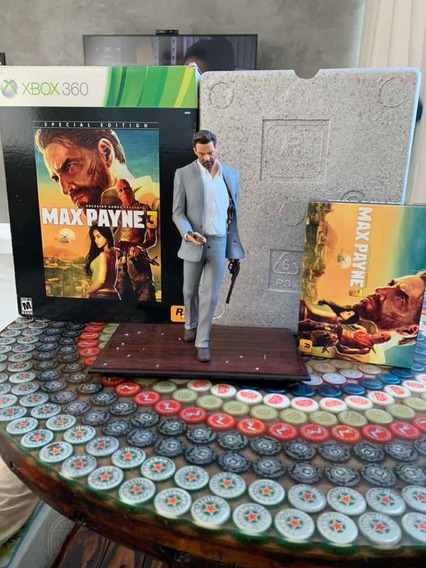 Max Payne 3 Edição De Colecionador