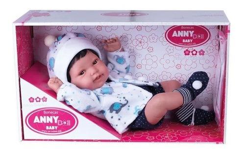 Imagem 1 de 3 de Boneca Bebê - Anny Doll - Baby Menino - Cotiplás