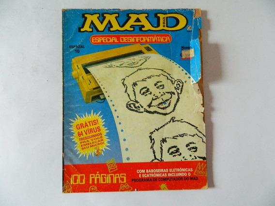 Revista Mad Especial Desinformatica Nº 10