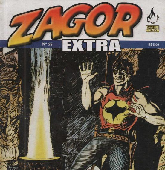 Revista - Livro - Zagor Extra Nº 58 Envio Imediato