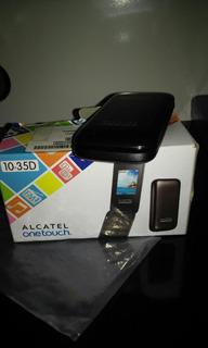 Um Celular Alcatel Onetouch Novo Dois Chip Pega Cartão