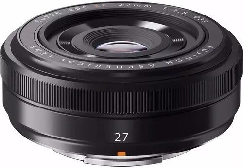 Lente Fuji Fujifilm Xf 27mm F/2.8 P/ Xpro2 Xt2 Xt20 Xh1